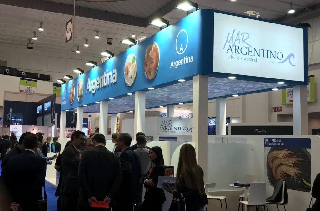 MAR ARGENTINO se presentó en Bruselas