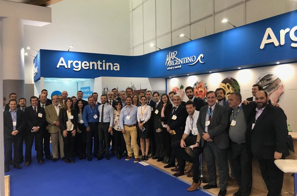 MAR ARGENTINO participó de la Seafood Expo Global 2019