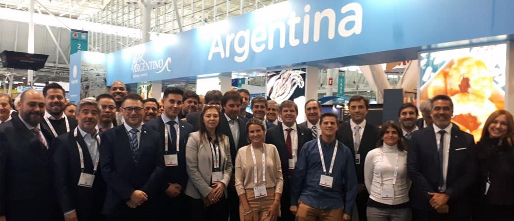 Los productos del MAR ARGENTINO se lucieron en los Estados Unidos